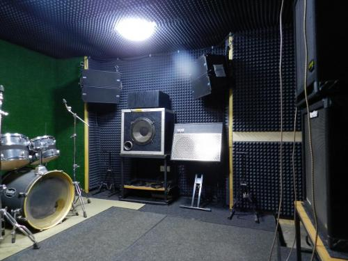 Rehearsal Base Entusiast in Moscow, RUSSIA